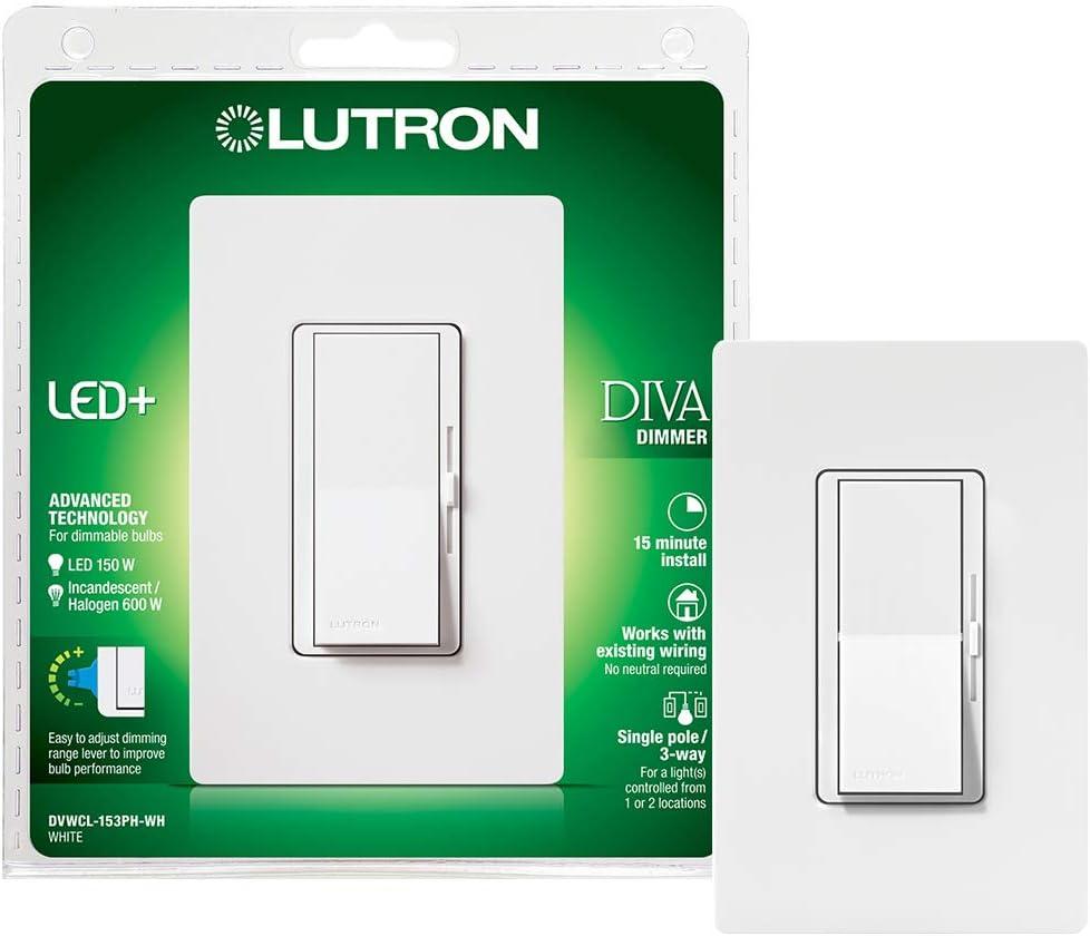 Lutron Diva LED + Dimmer