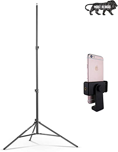 Marklif 9 feet Ring Light Tripod Stand. Light Tripod Stand are Lightweight & Stable Option for Indoor & Outdoor Photographic Lighting Aluminum Alloy Photo Studio Light Tripod Stand