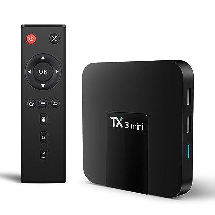 Amazon.com: TX3 Mini Android 7.1 TV BOX 2GB/16GB 4K TV Amlogic