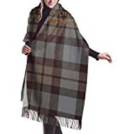 "YouGaet Tartan Outlander Women Soft Cashmere Scarf Large Pashminas Shawl Blanket 77""x 27"""
