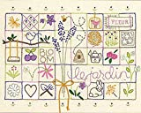 Dimensions 'Le Jardin' Embroidery Sampler Craft Kit, 11'' x 14''