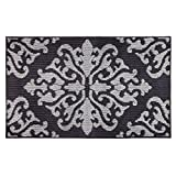 Jean Pierre New York Cole Loop Accent Rug, 36' x 60', Flat Grey