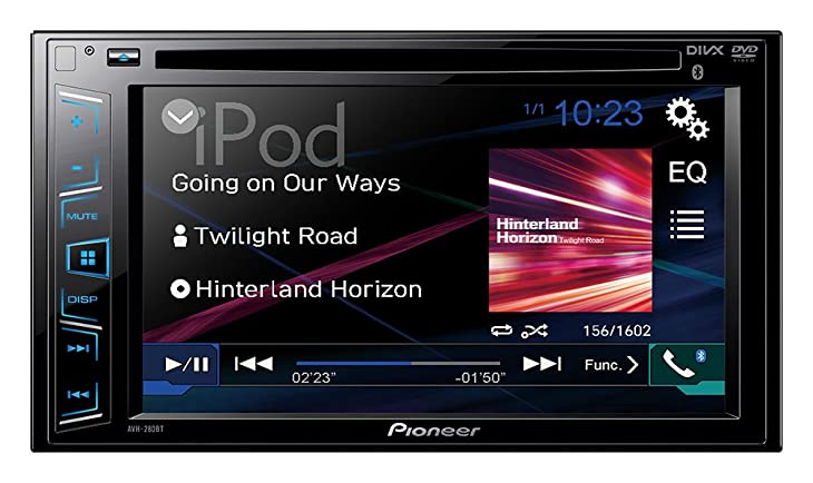 Pioneer AVH-280BT In-Dash DVD Receiver