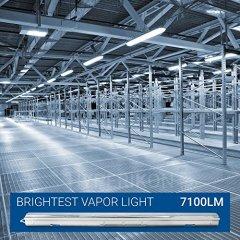 Hyperikon-LED-Vapor-Proof-Fixture-150-Watt-Replacement-70W-Garage-Lighting-Clear-Lens-UL-DLC-Daylight-White-4-Pack