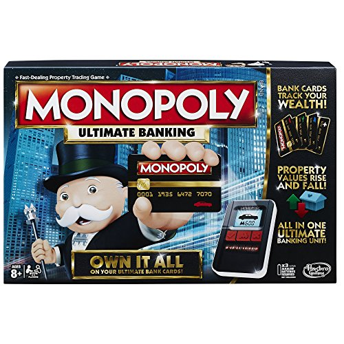 Hasbro Monopoly Game: Ultimate Banking Edition