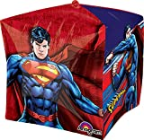 "Anagram International Superman Cubez Balloon Pack, 15"", Multicolor"