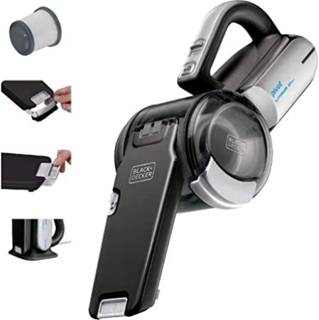 Amazon.com - BLACK+DECKER 20V Max Handheld Vacuum, Cordless, Grey ...