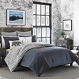 Eddie Bauer Kingston Comforter Set King Charcoal