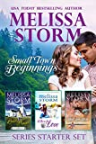 Small Town Beginnings: A 3-Book Sweet Romance Collection