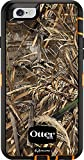 Rugged Protection OtterBox Defender Series Case for iPhone 6/6s - Bulk Packaging - Realtree MAX 5 (Blaze Orange/Black/MAX 5 Design