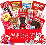 Valentine's Day Care Package - Snack bundle, Chocolates, Candy, Hearts - Gift for College Students - Boys, Girls, Children, Boyfriend, Girlfriend, Husband, or Wife! (30 count)
