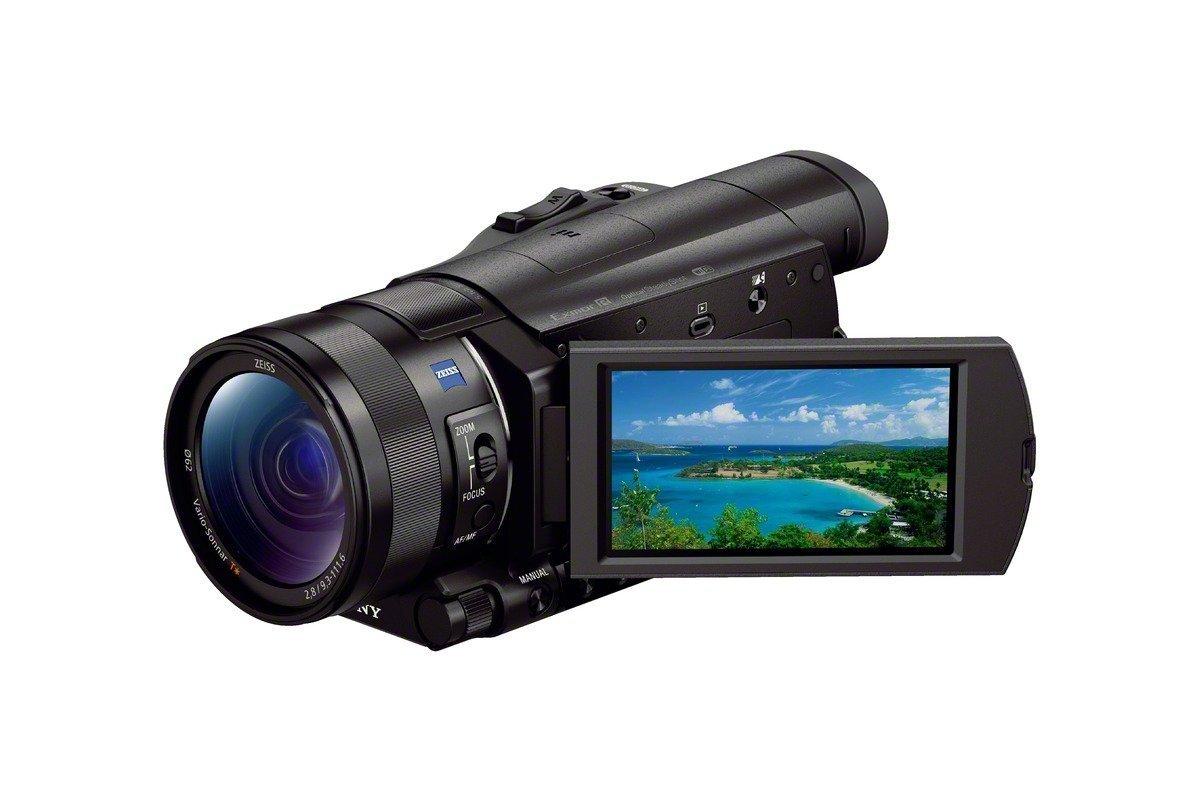 Sony FDR-AX100/B 4K Video Camera