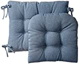 Klear Vu Gripper Jumbo Saturn Rocking Chair Cushion Set Blue