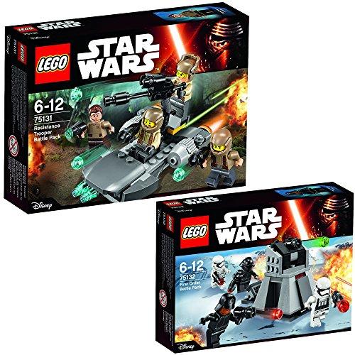 Lego Star Wars Set 75131 Resistance Trooper Battle Pack