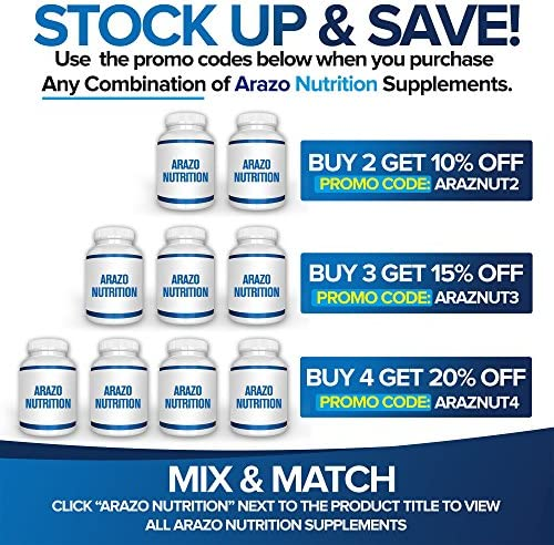 White Kidney Bean Extract - 100% Pure Carb Blocker and Fat Absorber for Weight Loss - Intercept Carbs – Arazo Nutrition 9