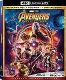 Avengers Infinity War 4K Ultra HD + Blu Ray + Digital Code [Blu-ray]
