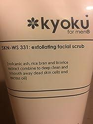 Kyoku For Men Exfoliating Facial Scrub   Kyoku For Men Face Scrub, A Gentle Acne Treatment For Men (3.4oz) Updated Formula Customer Image