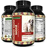 Horny Goat Weed Supplement for Women and Men a Natural Energy Booster Pills for Stamina and Performance with Pure Epimedium with Maca Root, Tongkat Ali and Panax 60 Capsules by California Products