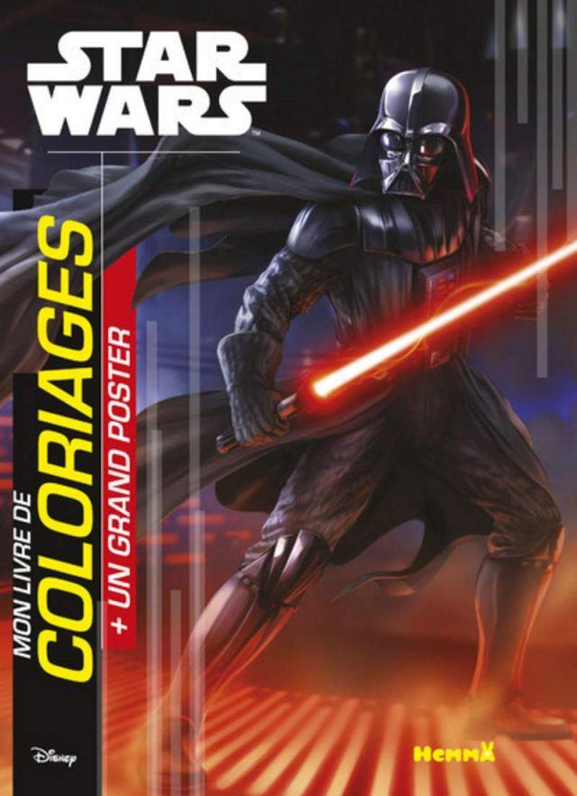 Disney Star Wars Saga Mon livre de coloriage + Un grand poster