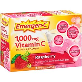 Emergen-C (30 Count, Acai-Berry Flavor) Dietary Supplement Drink Mix with 1000 mg Vitamin C, 0.30 Ounce Packets, Caffeine Free