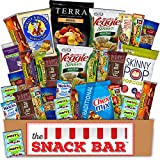 Healthy snack Care Package (30 count) A Gift crave Snack Box with a Variety of Healthy Snack Choices - Great for Office, College Military, Work, Students etc.