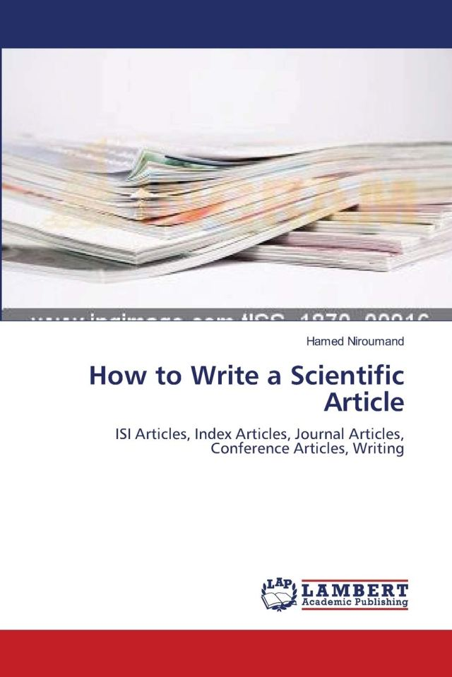 How to Write a Scientific Article: ISI Articles, Index Articles