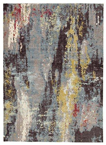 Signature Design by Ashley R403212 Medium Rug, 5 x 8, Gray