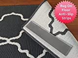 Anti-Slip Area Rug Pads. Anchor Area Rugs To The Floor. Sticky Strips Non-Slip Rug Pads For RUG-ON-FLOOR Anti-Slip. 8 Pack Intended To Anchor a Medium/Large Rug From Moving On FLOORS. BRAND NEW!