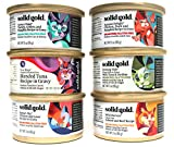 Solid Gold Grain-Free Wet Cat Food Variety Pack - 6 Flavors, 3-Ounces Each (12 Total Cans) (12 Pack)