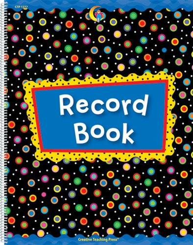 Poppin' Patterns Record Book (1277)