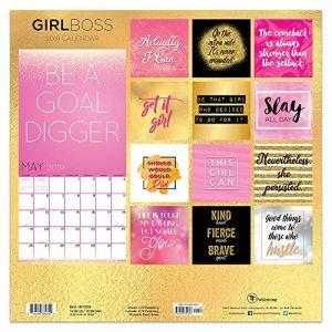 2019 Girl Boss Wall Calendar