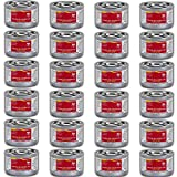 Chafing Dish Fuel Cans - Includes 24 Ethanol Gel Chafing Fuels, Burns for 2 Hours (6.43 OZ) for your Cooking, Food Warming, Buffet and Parties.
