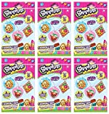 Shopkins Season 1 Fashion Tag Mystery 6 Pack set [Styles And Colors Will Vary]
