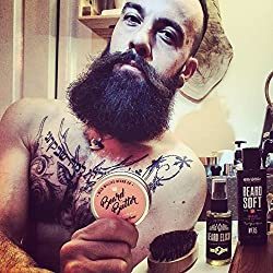 Beard Balm Conditioner for Men - Wild Willie's Beard Butter - Amazing Beard Balm with 13 Natural Locally Sourced Ingredients to Condition and Treat Your Beard or Mustache at The Same Time.  Image 5