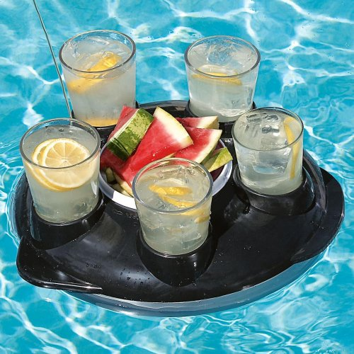 bandeja flotante piscina teledirigida