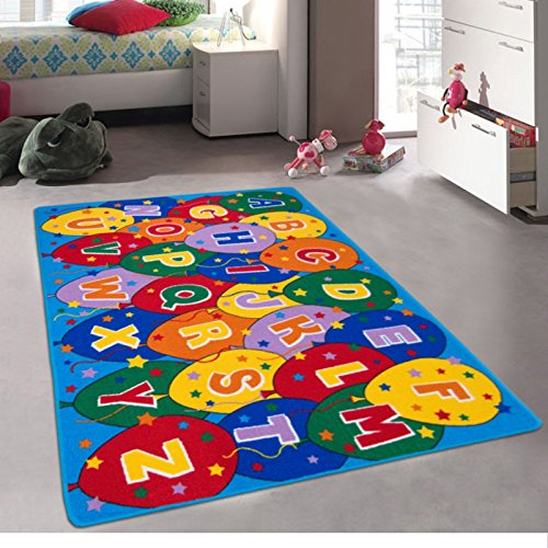 Kids baby room daycare classroom playroom area rug for Area rug kids room