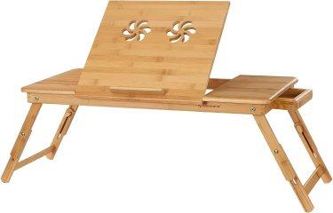 SONGMICS Laptop Bed & Sofa Desk