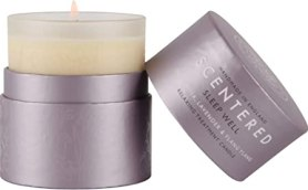 Scentered Sleep Well Aromatherapy Scented Candle - Supports Bedtime  Relaxation & Restful Sleep - Lavender, Chamomile & Ylang Ylang Blend -  Large: Amazon.co.uk: Health & Personal Care