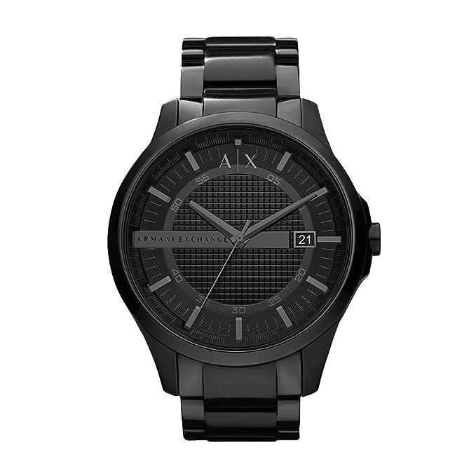 Reloj negro de marca para hombrehttps://amzn.to/2QLQ53r