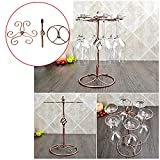 Product review for Ieasycan Homeware Waist Style Wine Hanging Upside Down Cup Holder Goblet Rack