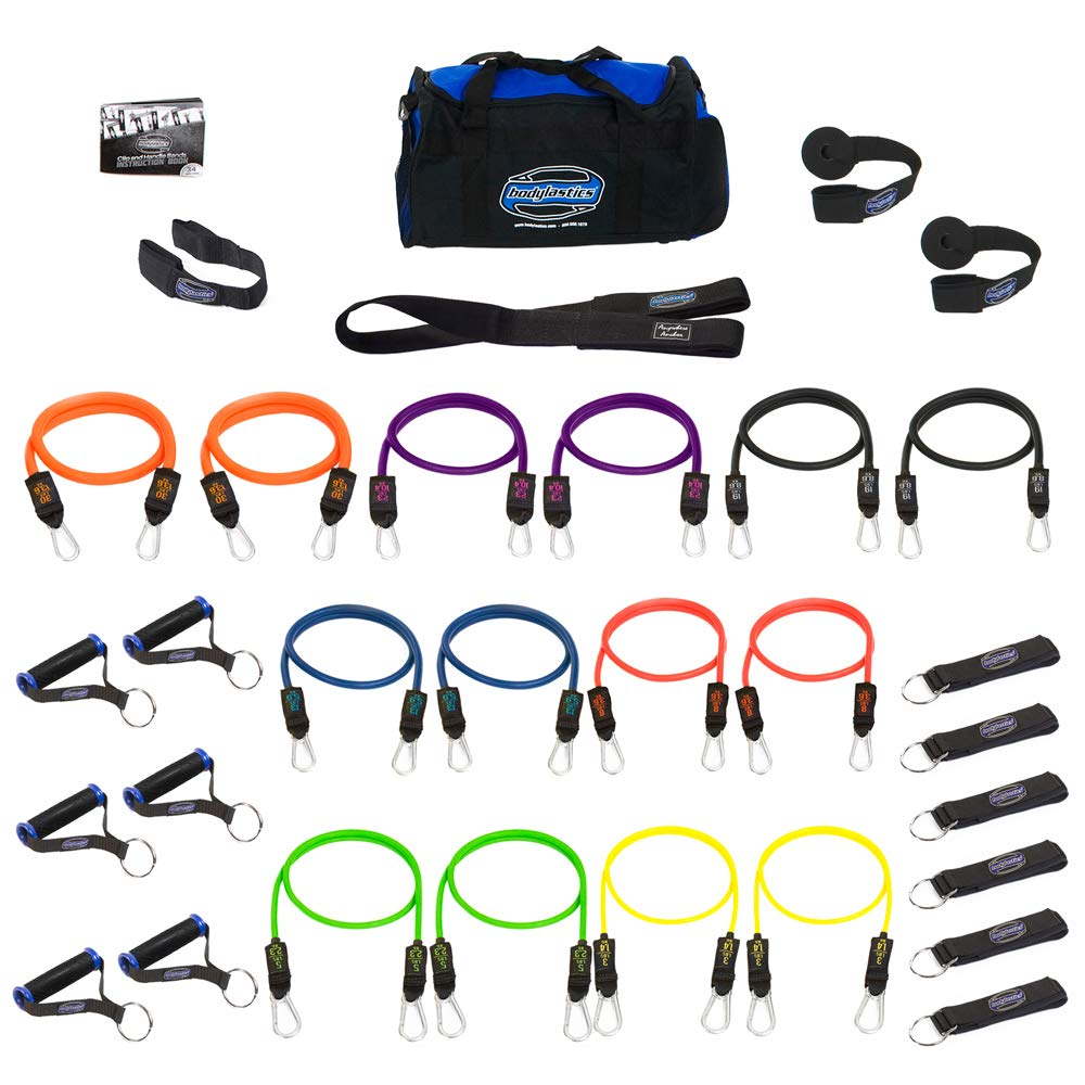 Bodylastics Patented Anti-SNAP MAX Tension Resistance Bands