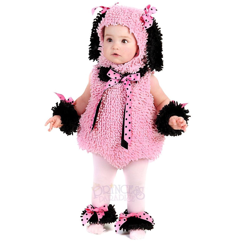 pink poodle infanttoddler halloween costume