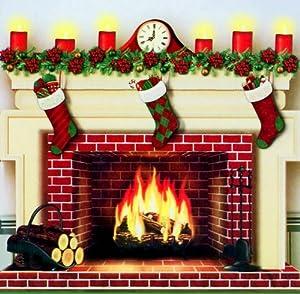fake fireplace christmas decoration 2018 - Fake Fireplace Christmas Decoration