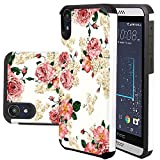 HTC Desire 630 Case, HTC Desire 530 Case, Harryshell(TM) Shock Absorption Drop Protection Hybrid Dual Layer Armor Defender Protective Case Cover for HTC Desire 630 / 530 (C-3)