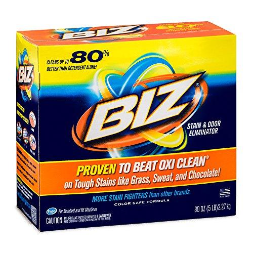 BIZ Stain & Odor Eliminator Laundry Detergent Powder (80 oz.)