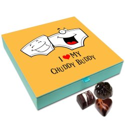 Chocholik Friendship Gift Box – I Love My Childhood Friends Chocolate Box for Friends – 9pc