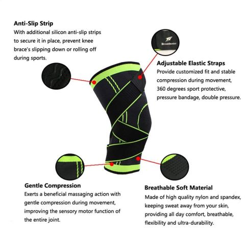 Image result for 360 Compression KNEE Brace IMAGES