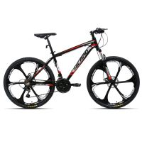 Hiland 26'' Mountain Bike with Disc Brake, 17'' Aluminum Frame,21 Speeds,Multiple Colors