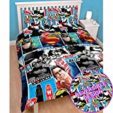 Batman v Superman Clash 2 Piece UK Double /US Full Sheet Set – 1 x double sided sheet & 2 x pillowcases