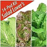 Salad Lovers Seed Pod Kit by Aerogarden (14 pods)